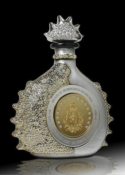 most expensive drinks - Henri IV Dudognon Heritage Cognac Grande Champagne