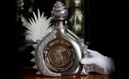 most expensive beverages - Tequila Ley .925