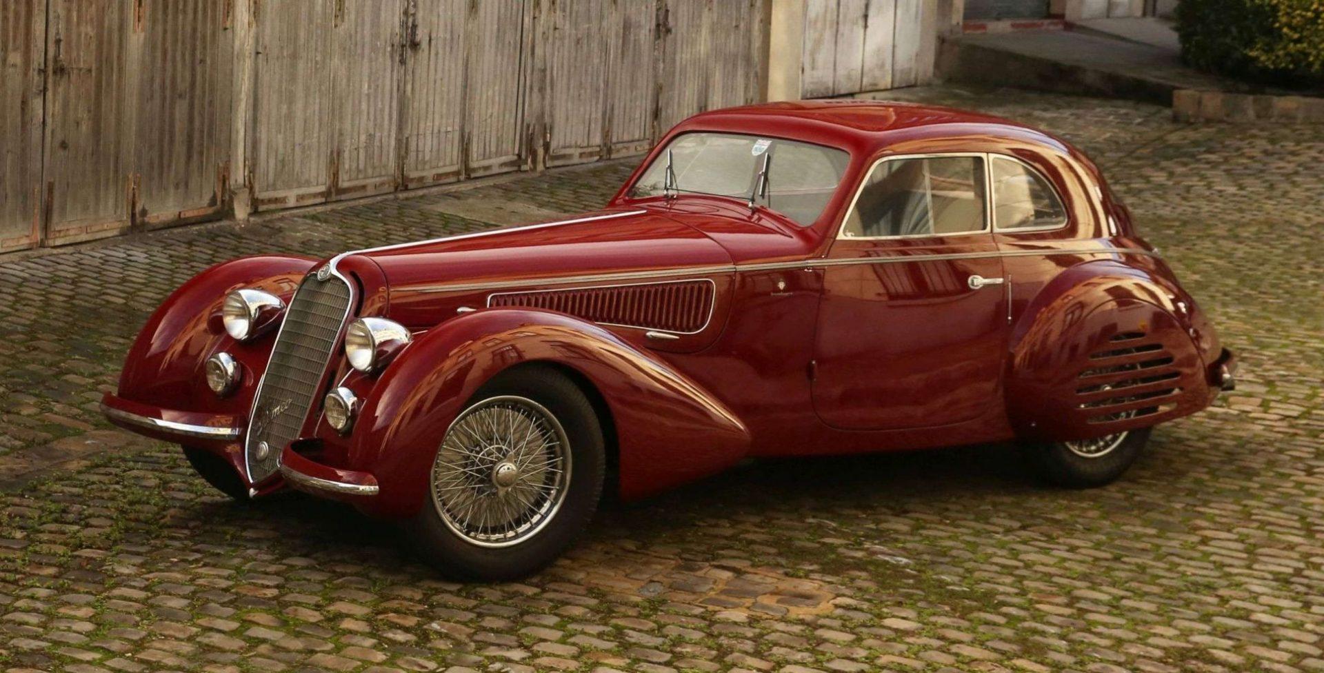 1939 Alfa Romeo 8C 2900