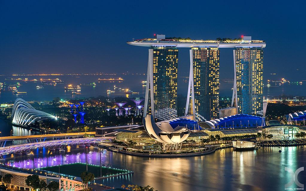 Best luxury five star hotels of Singapore - Marina Bay Sands - Newgen Luxury