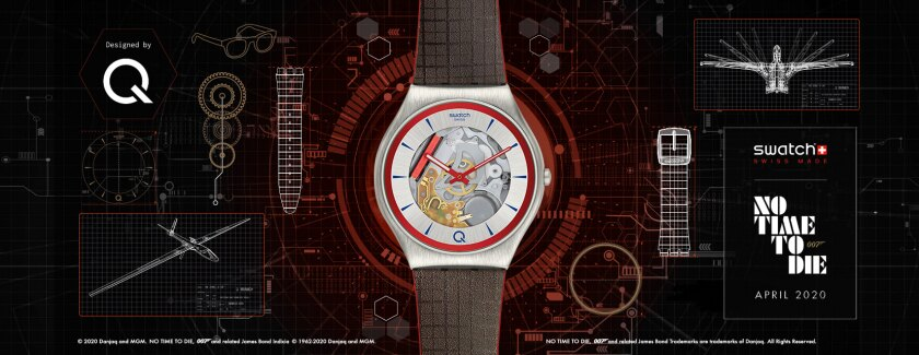 swatch no time to die