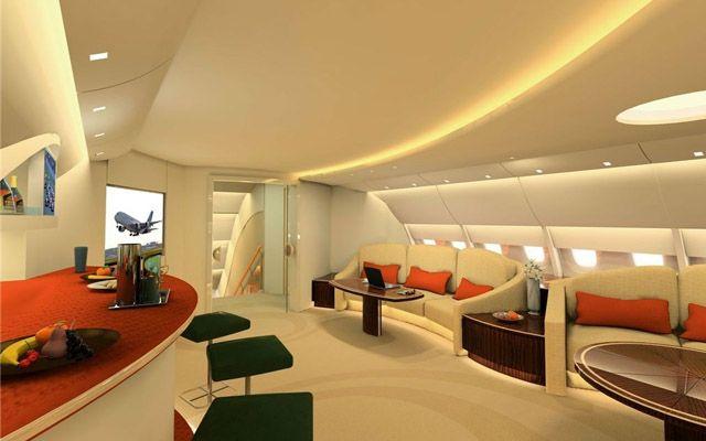 Airbus A380 -Interior Look