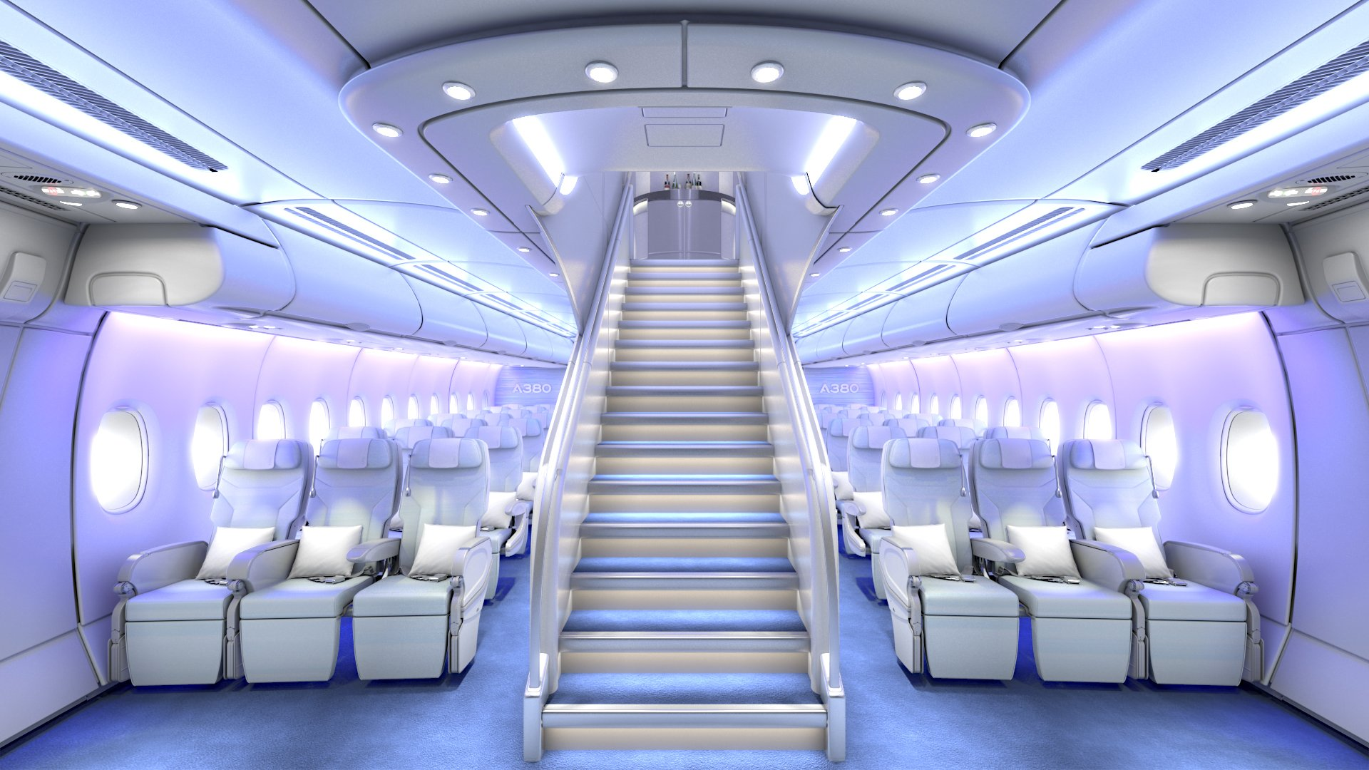 Most exepnsive Private Jet in the world - The Seats