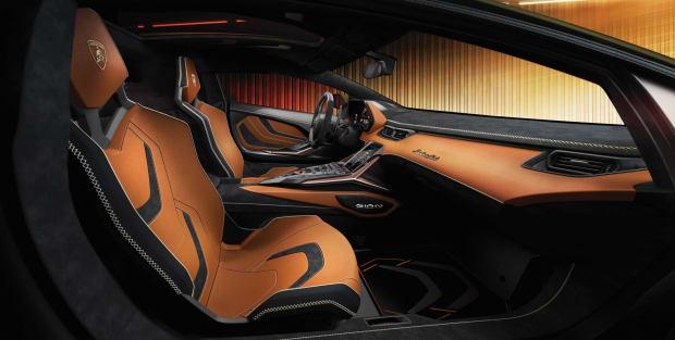 Lamborghini Sian Salon
