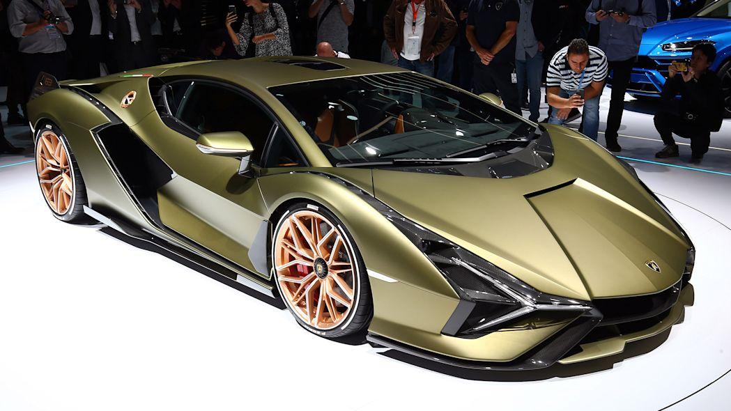 The Latest Lamborghini Concept -Sian