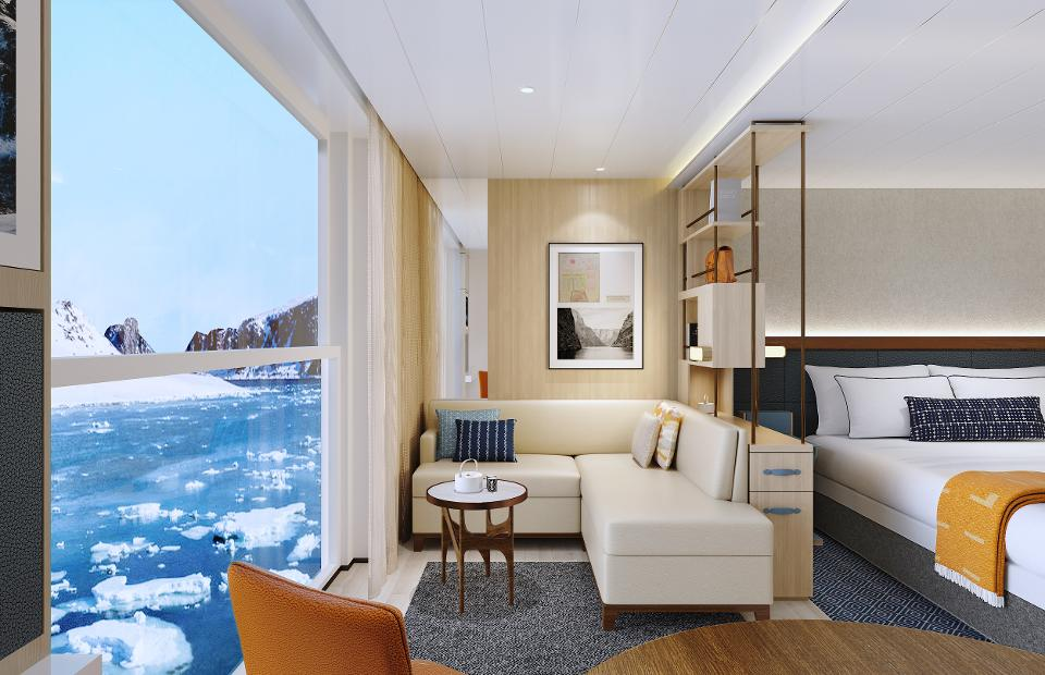viking octantis and viking polaris guest room
