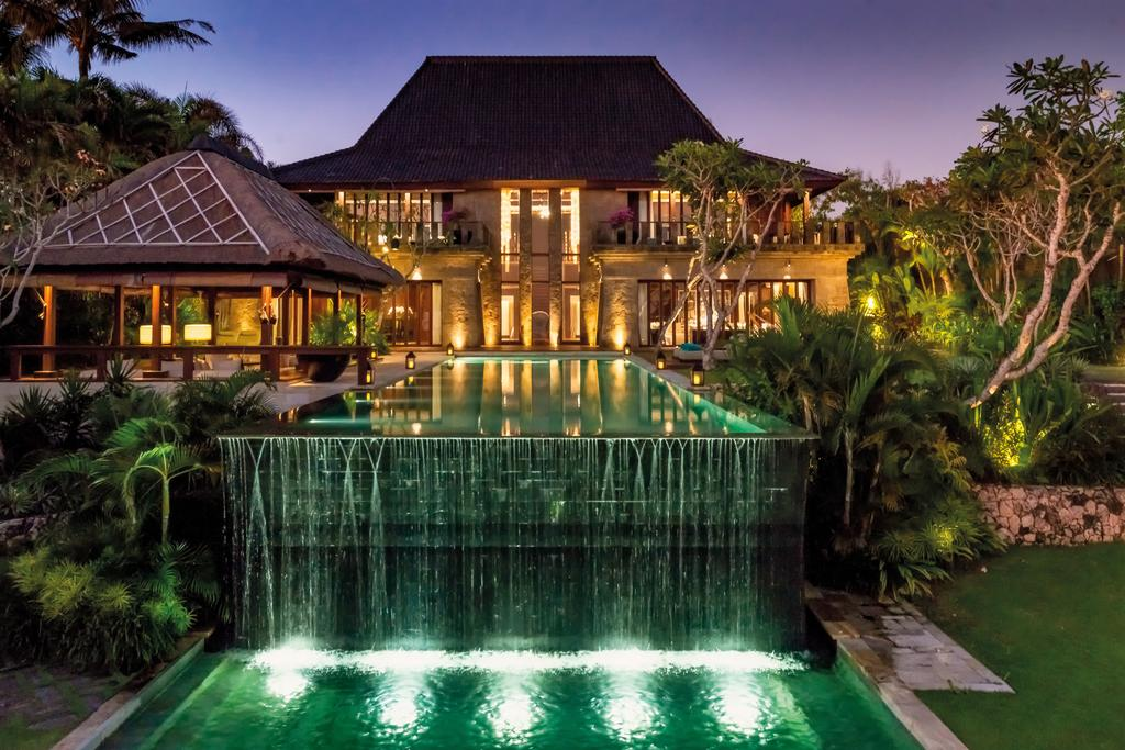 Spa exterior of Bulgari resort in Bali, Indonesia