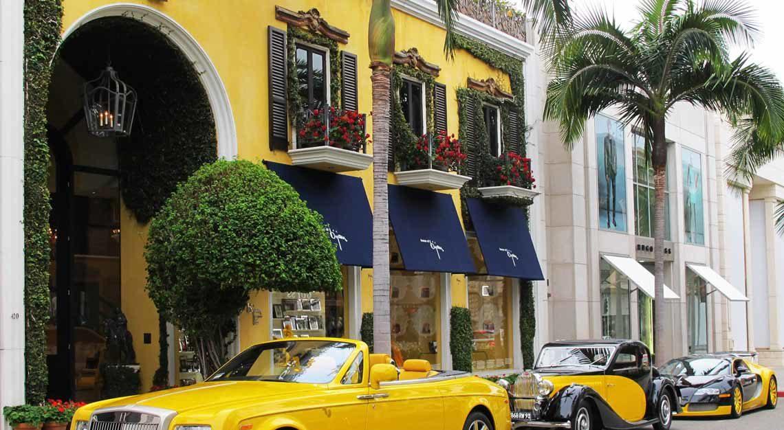 House of Bijan - luxurious retail shop