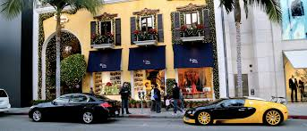 luxurious retail shop