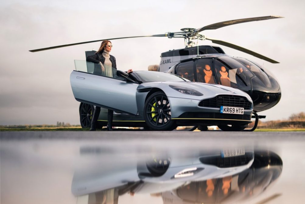 Best Aircraft of Airbus and Aston Martin:ACH130