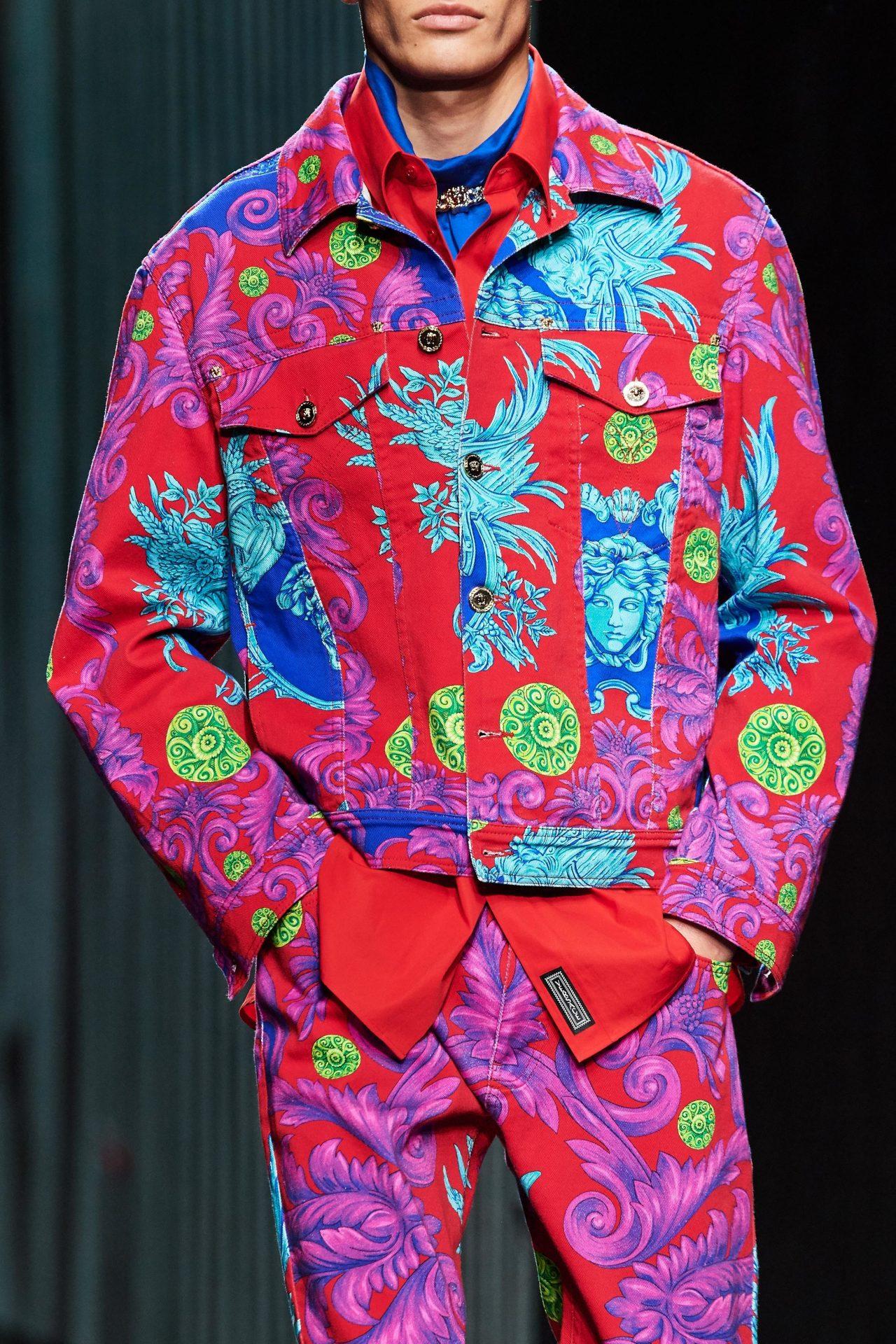 Versace 2020 Milan fashion week