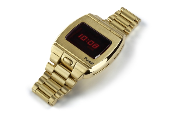 first-ever digital watch