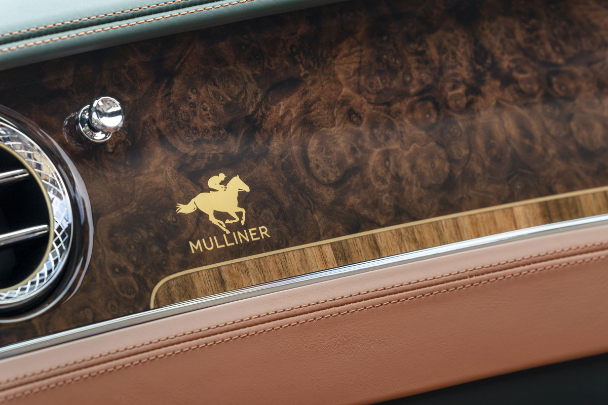 bentley model Mulliner equestrian edition