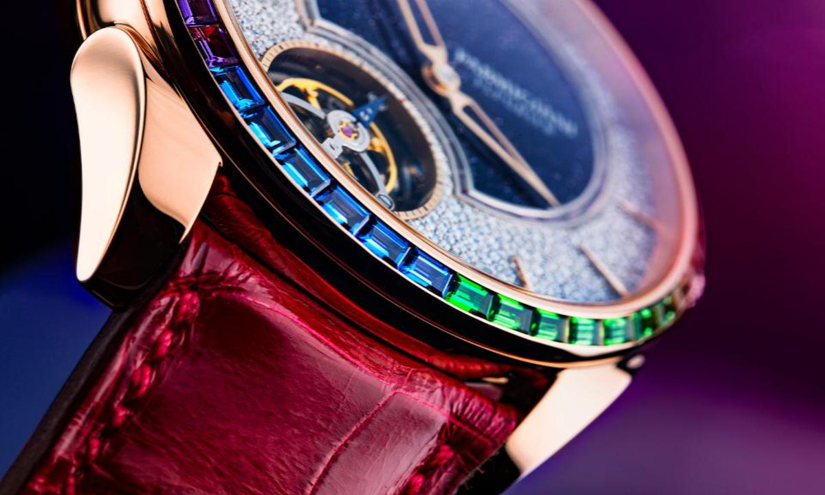 Parmigiani Tonda 1950 Under Light 1 – Parmigiani Fleurier Double Rainbow Watch is the Updated Tonda 1950