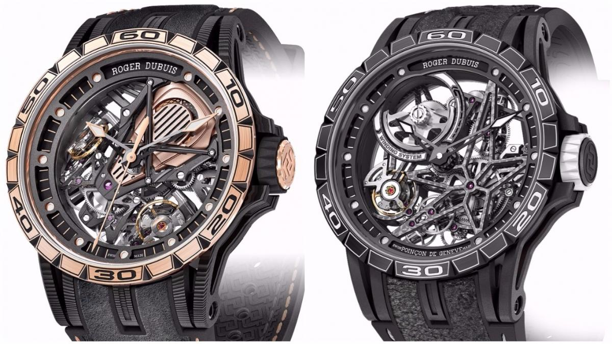 Roger Dubuis Pirelli and Lamborghini – Roger Dubuis and Lamborghini New Timepiece