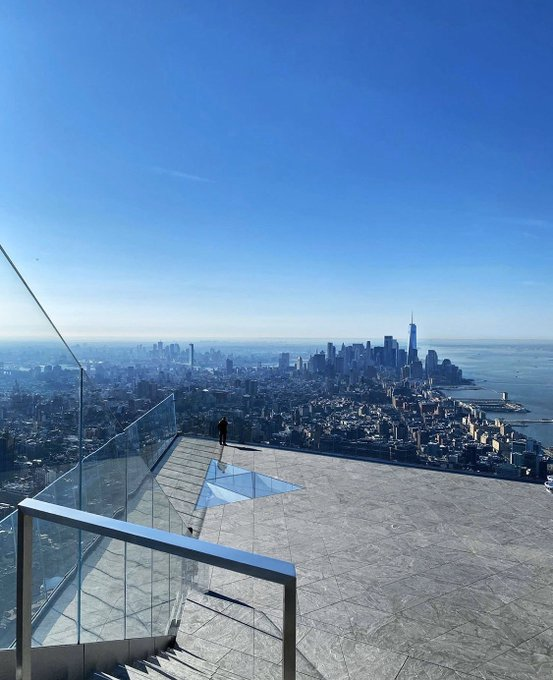 New York Sky Deck's 100th Floor