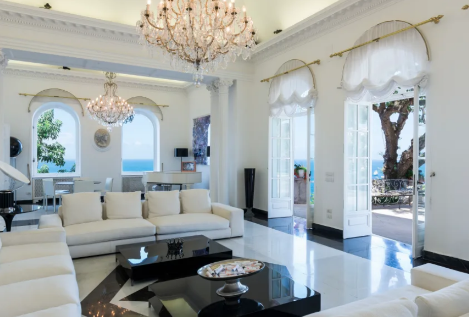 Bismarck Interior – The Luxurious Villa Bismarck is the Perfect Summer Vacation Dwelling