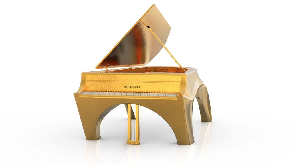 luxurious self-playing pianos