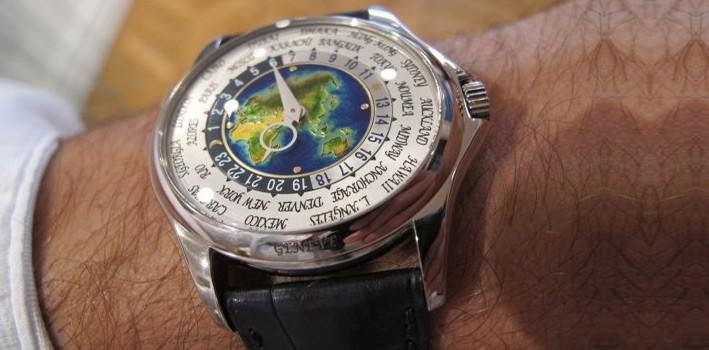 Patek Philippe Platinum World Time – The Charm of  Patek  Philippe  -Luxury  Watches