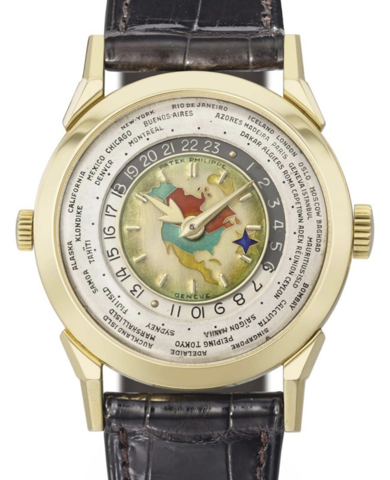 Patek Philippe Rare 2523 World Time Christies 800 – The Charm of Patek Philippe -Luxury Watches