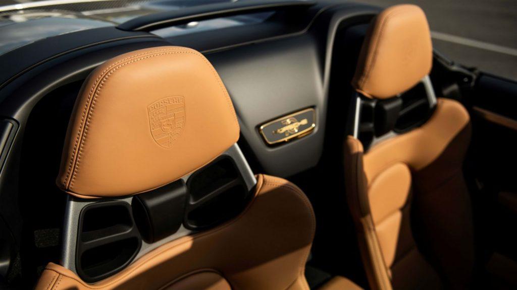 Porsche 911 at auction interior