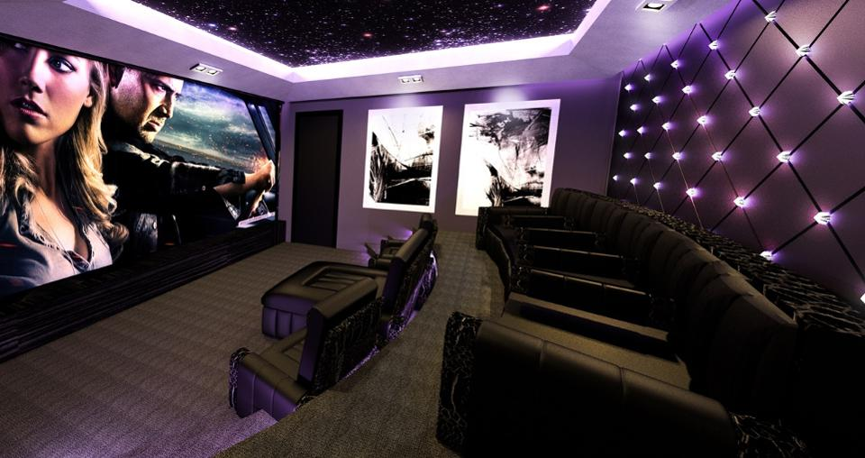 luxury home theatres