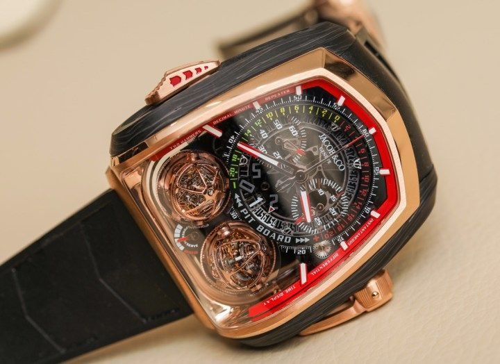 Twin Turbo Luxurious JacobCo Watch – Jacob and Co Bugatti Wristwatch is a Sporty Accessoire