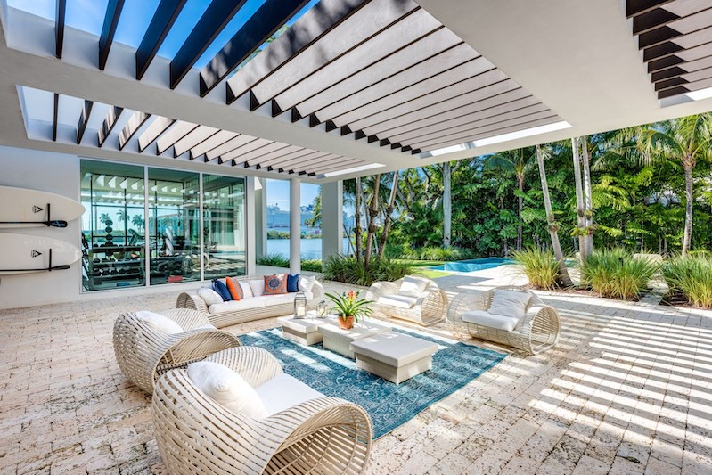 Palm Island Waterfront House