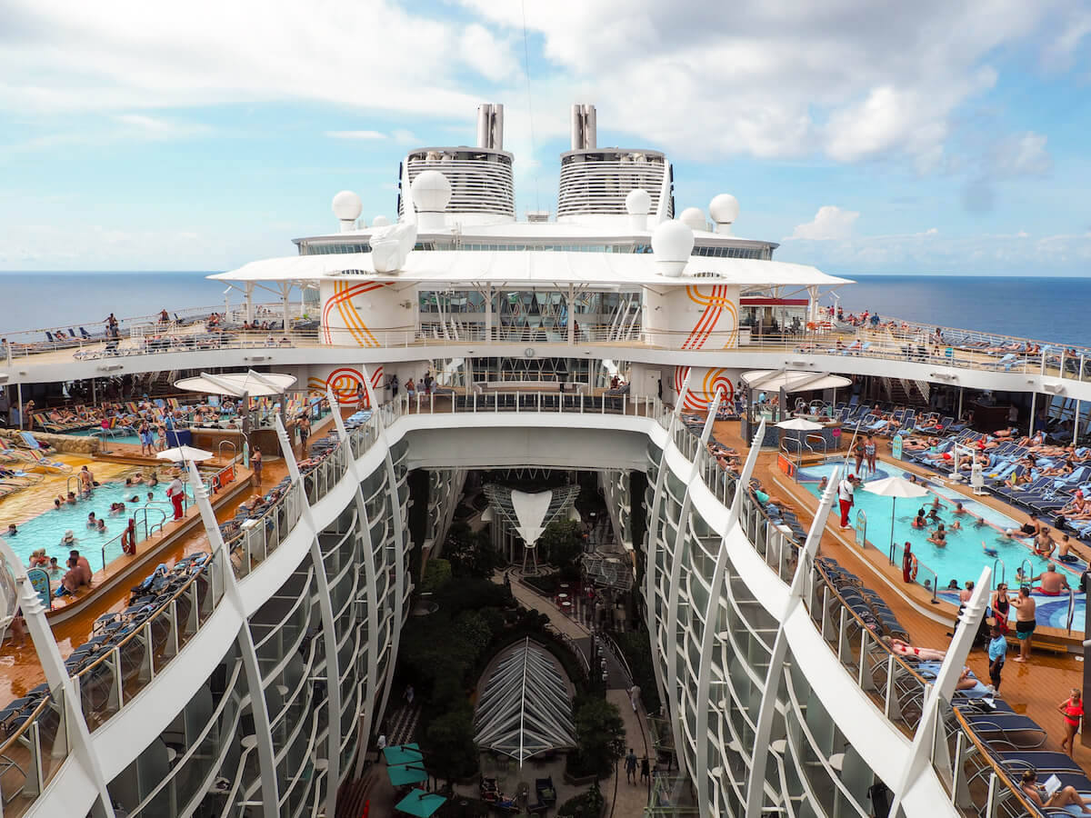 Harmony of The Seas- the world's largest cruise ship