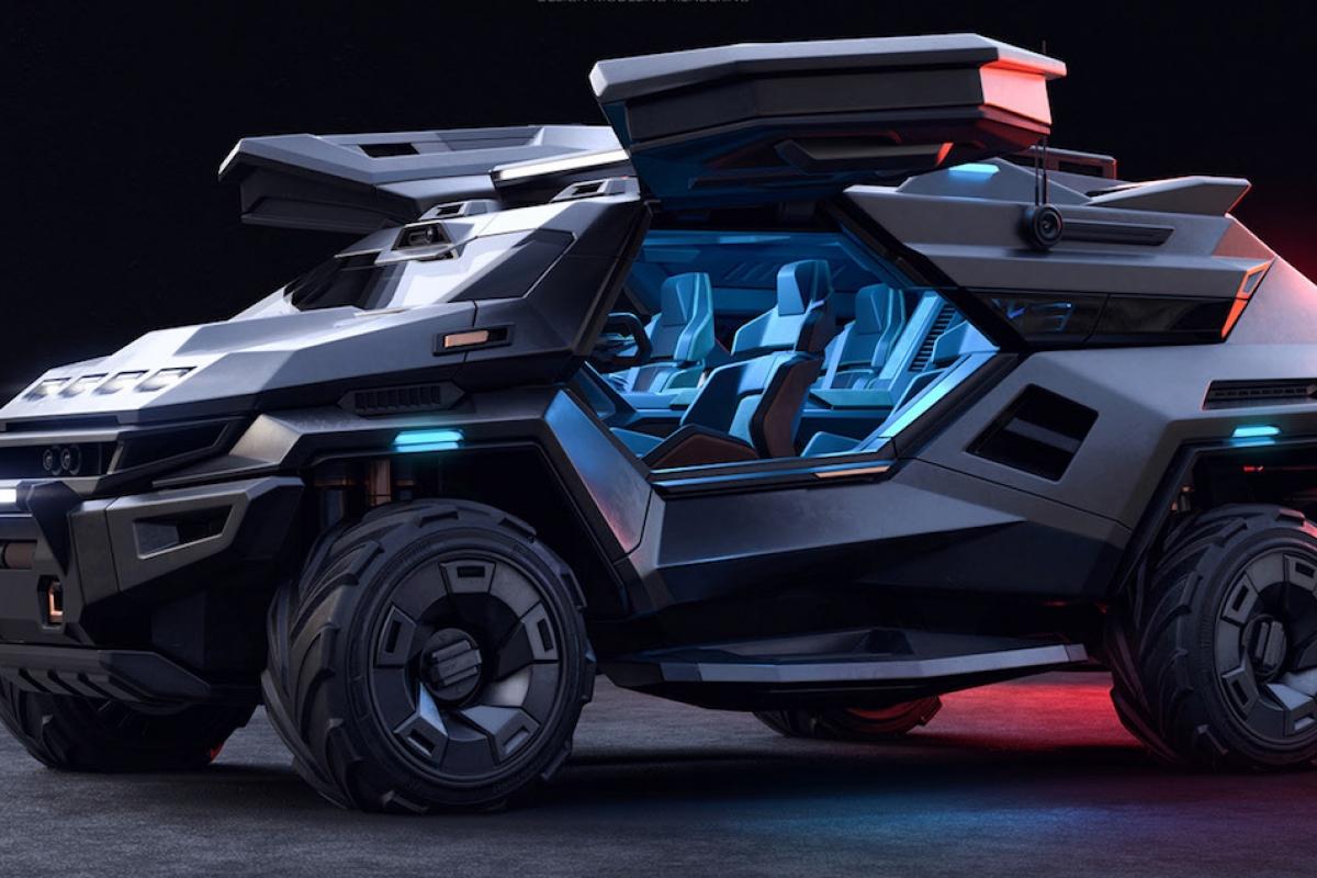 Armortruck SUV concept