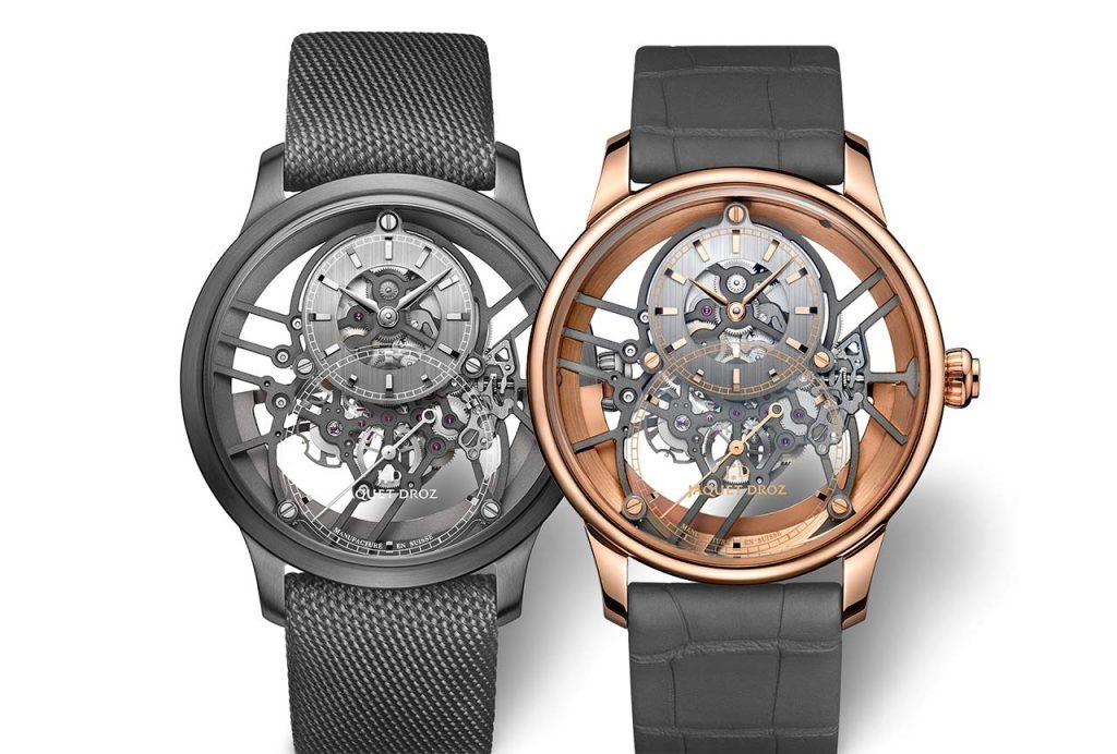 Jaquet Droz Grande Seconde Skelet One 2020 001 – New Luxury Watches: Jaquet Droz Exquisite Limited Spring Edition 2020