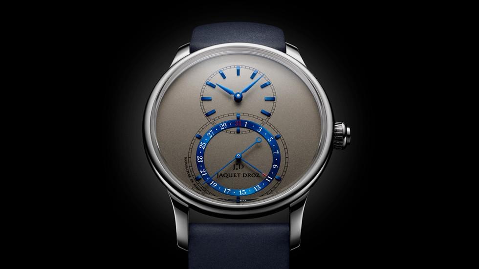 Jaquet Droz Grande Seconde Quantieme Titanium Gray J007020350 Ambiance – New Luxury Watches: Jaquet Droz Exquisite Limited Spring Edition 2020