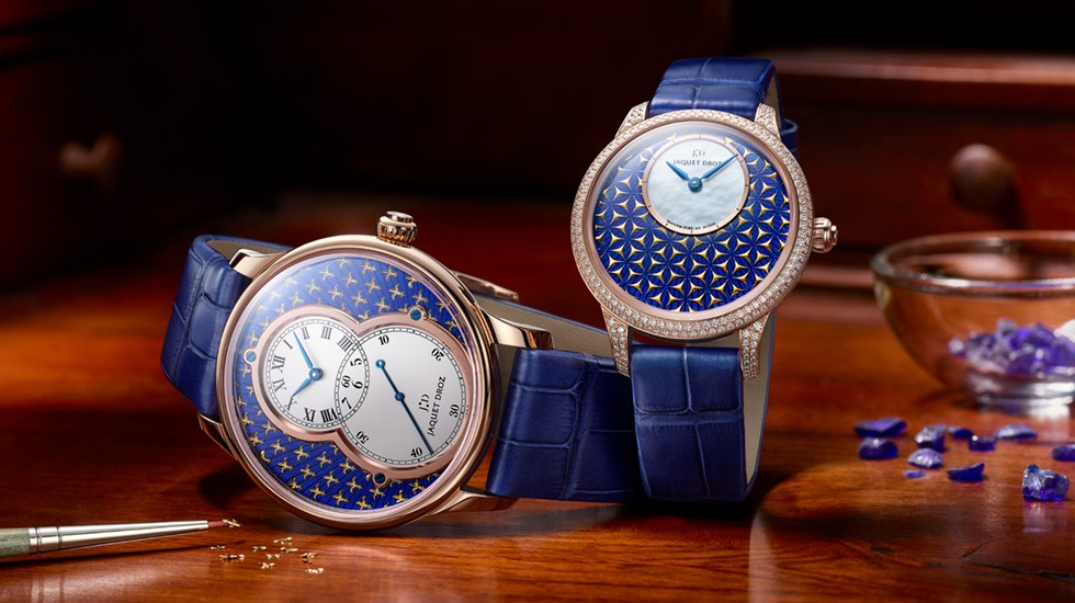 Jaquet Droz the Art of Paillonne Enameling J003033437 – New Luxury Watches: Jaquet Droz Exquisite Limited Spring Edition 2020