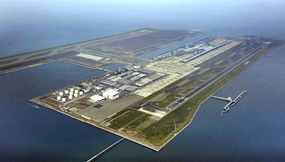 Kansai airport1 – Most Incredible Airports in The World - A Piece of Luxury Engineering