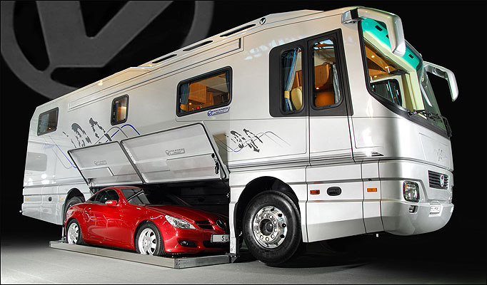 and the kitchen sink – 5 Most Expensive Luxury RVs The Price of Which Is Simply Shocking