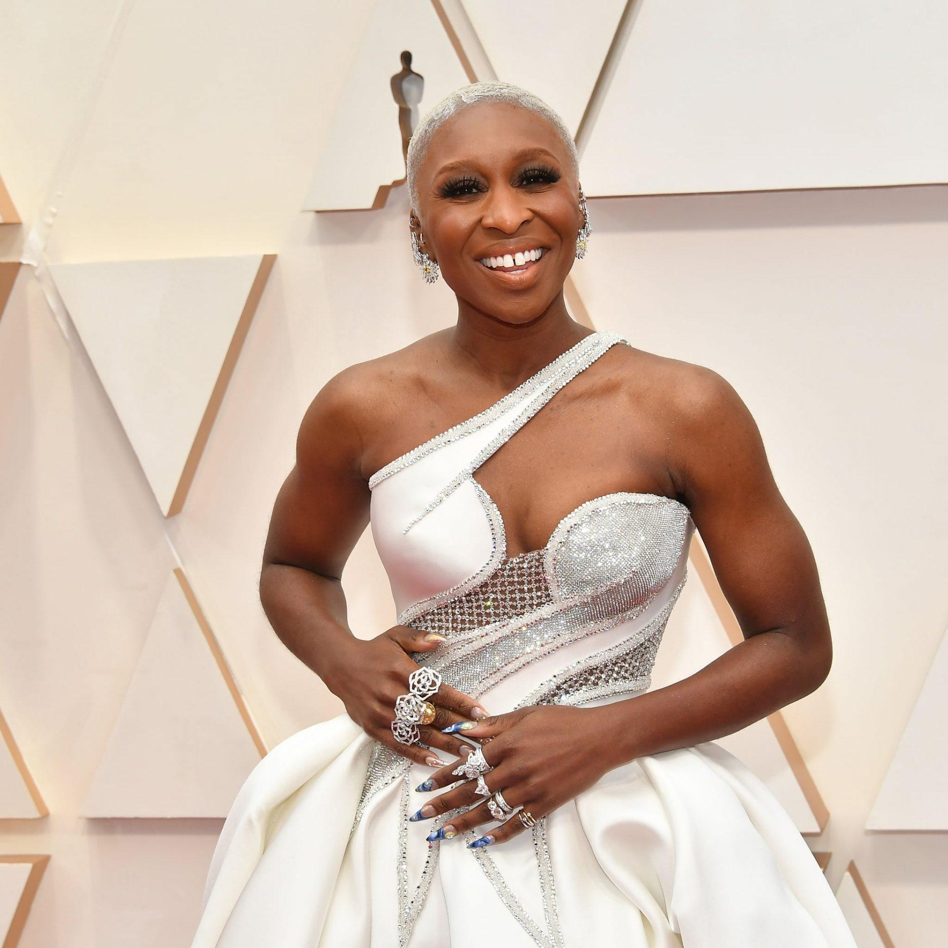 cynthia erivo nail art oscars 2020 – Top Oscar  Jewelry 2020: A Night of Glitz and Glamour