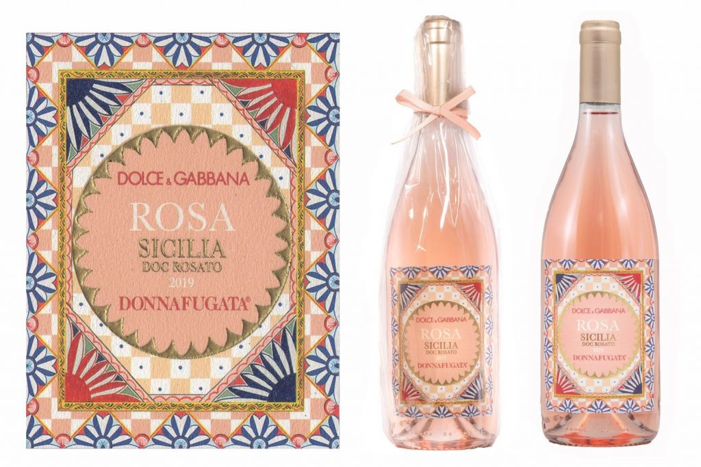 """rose wines from brands - Dolce and Gabbana: """"Rosa"""""""