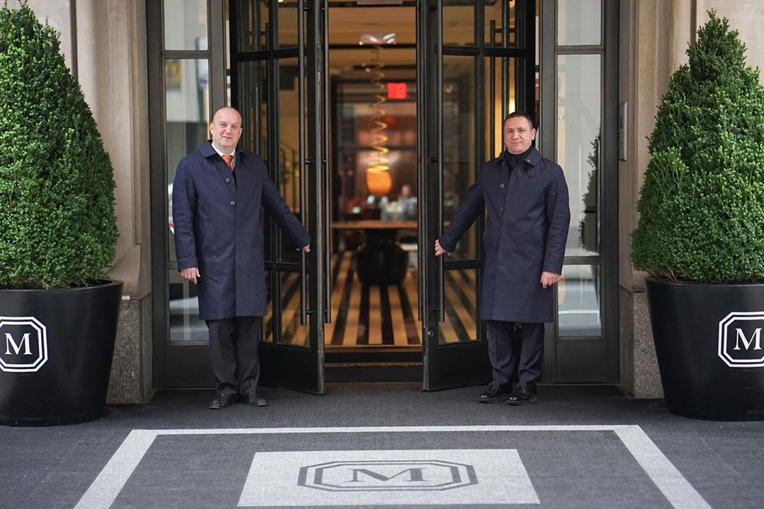 the Mark Hotel in NYC