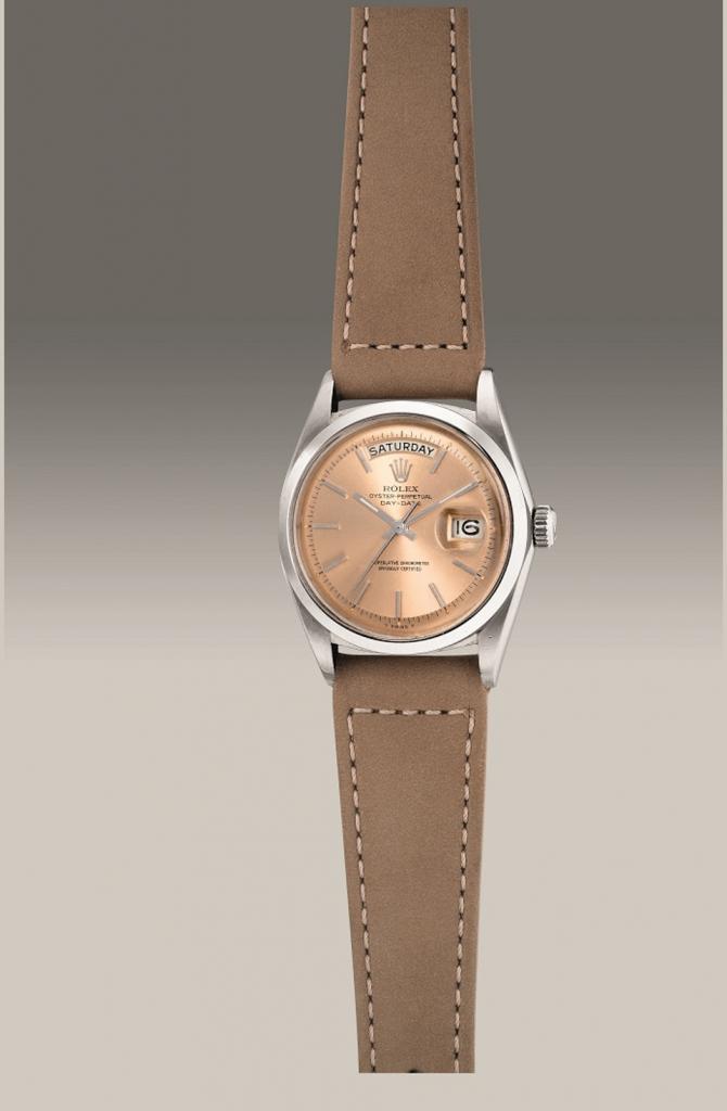 Rolex Salmon Watch