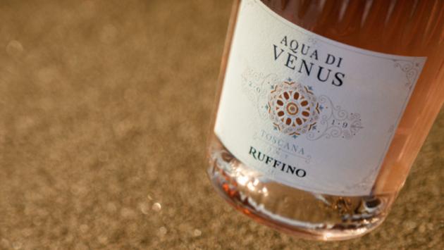 rose wines from brands - Aqua Di Venus by Ruffino