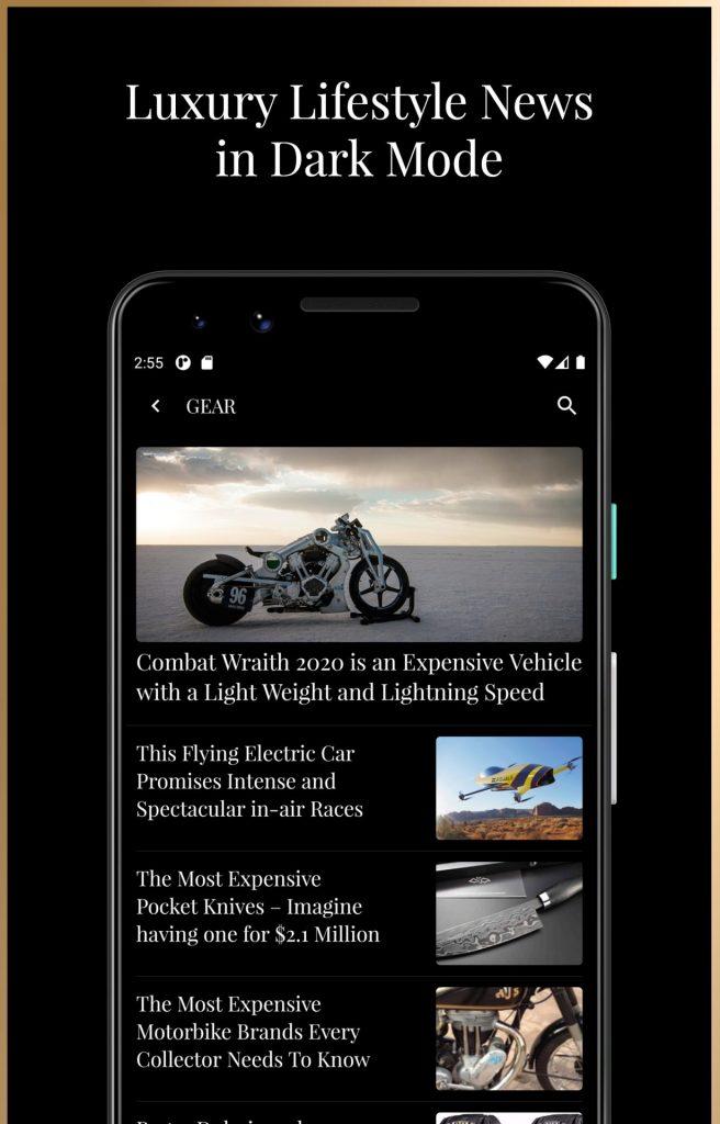 3 – Luxury Magazine Newgen Luxury Android App