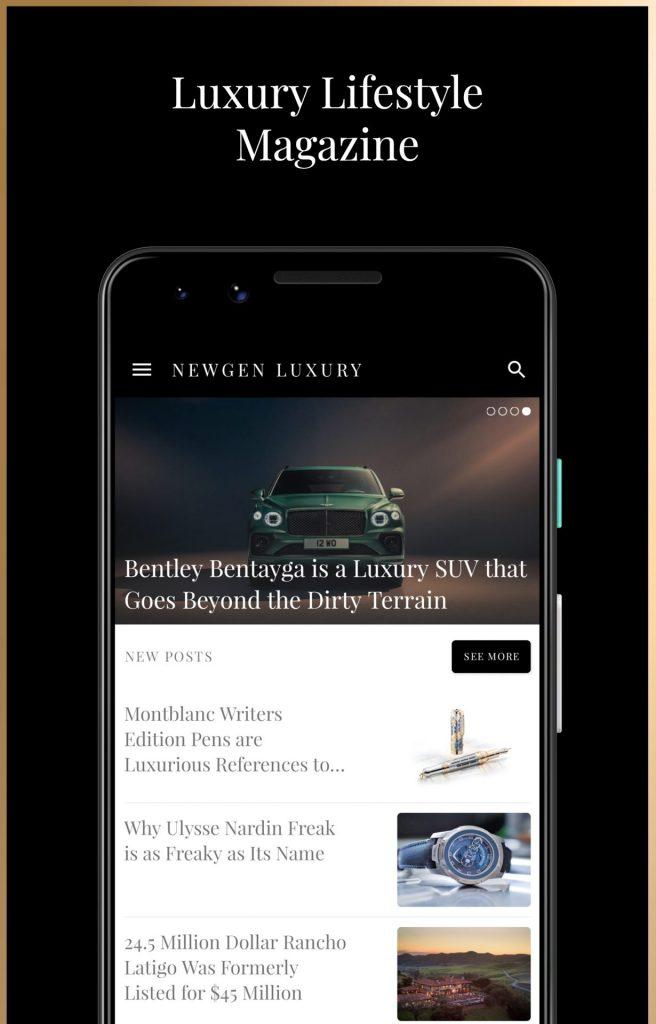 Google Pixel 3 Clearly White – Luxury Magazine Newgen Luxury Android App