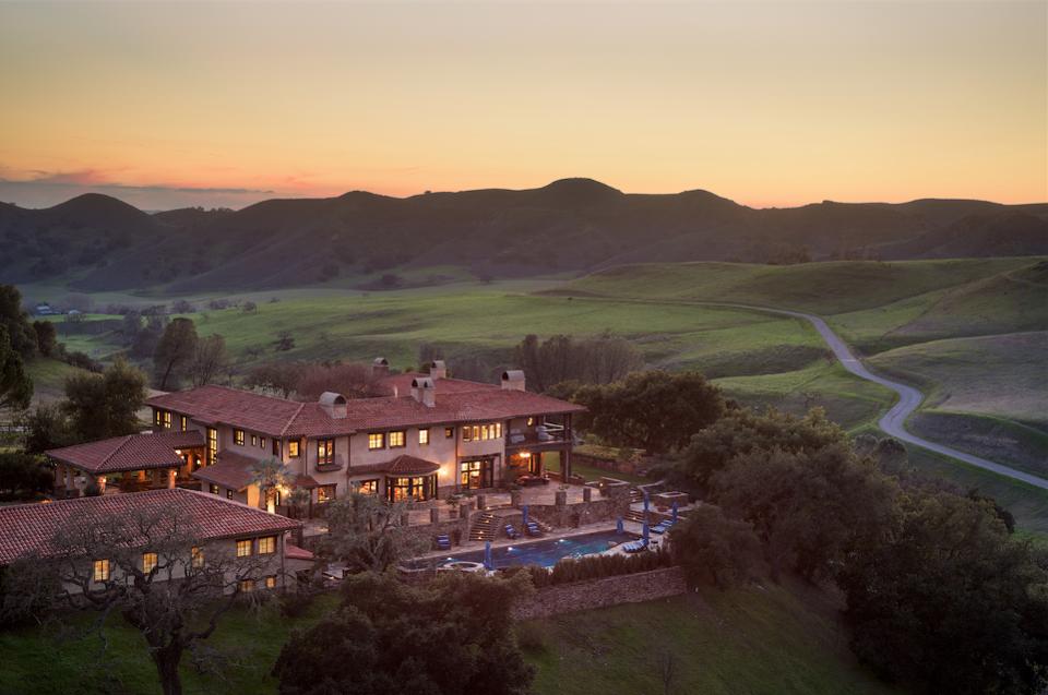 24.5 million dollar rancho Latigo