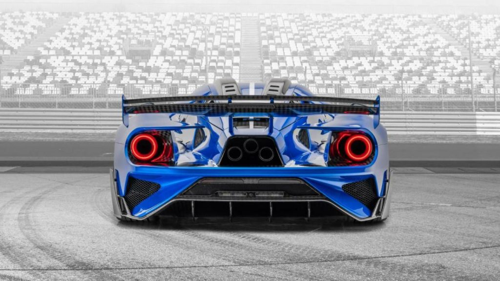 2020 Le Mansory Ford GT Rear