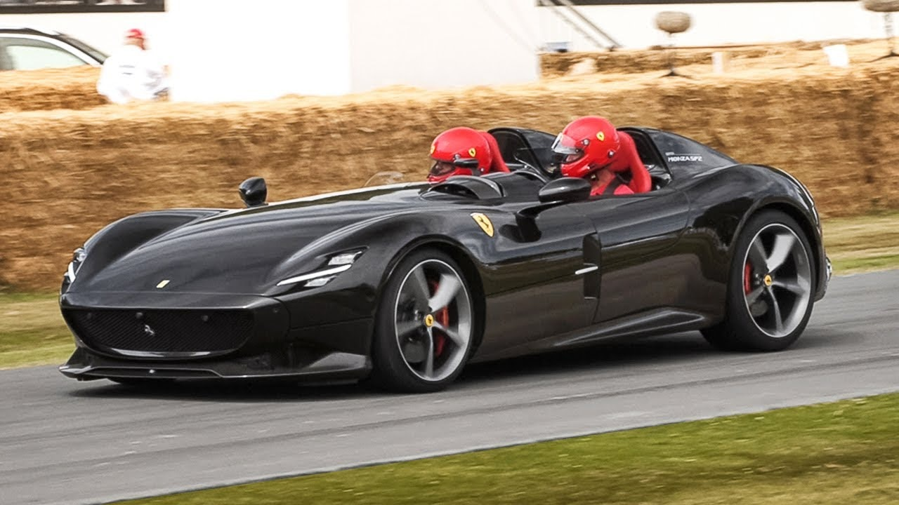 Ferrari Monza Sp2 Is A Limited Edition Luxury Car With 2 Seats