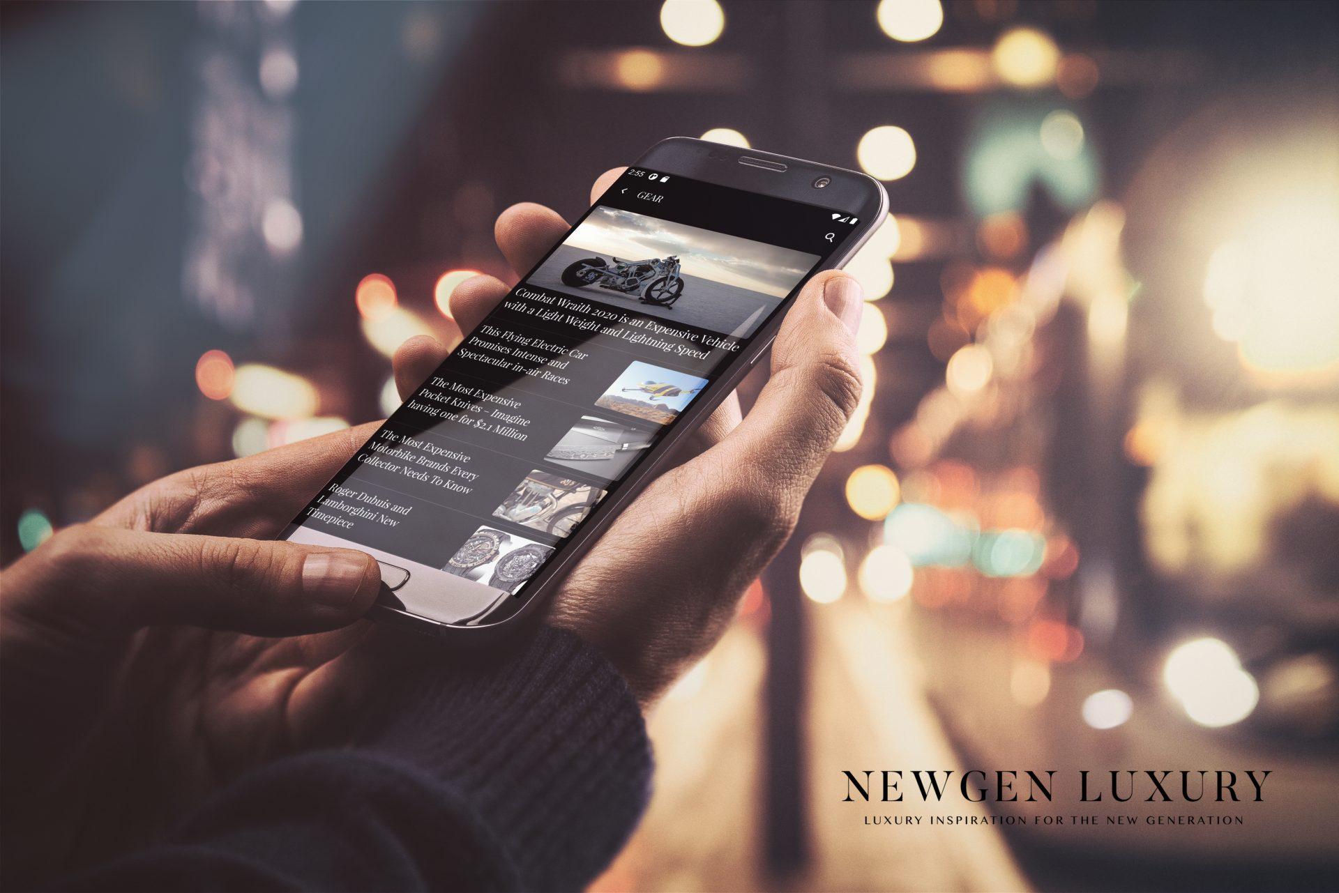 mockup newgen1 – Luxury Magazine Newgen Luxury Android App