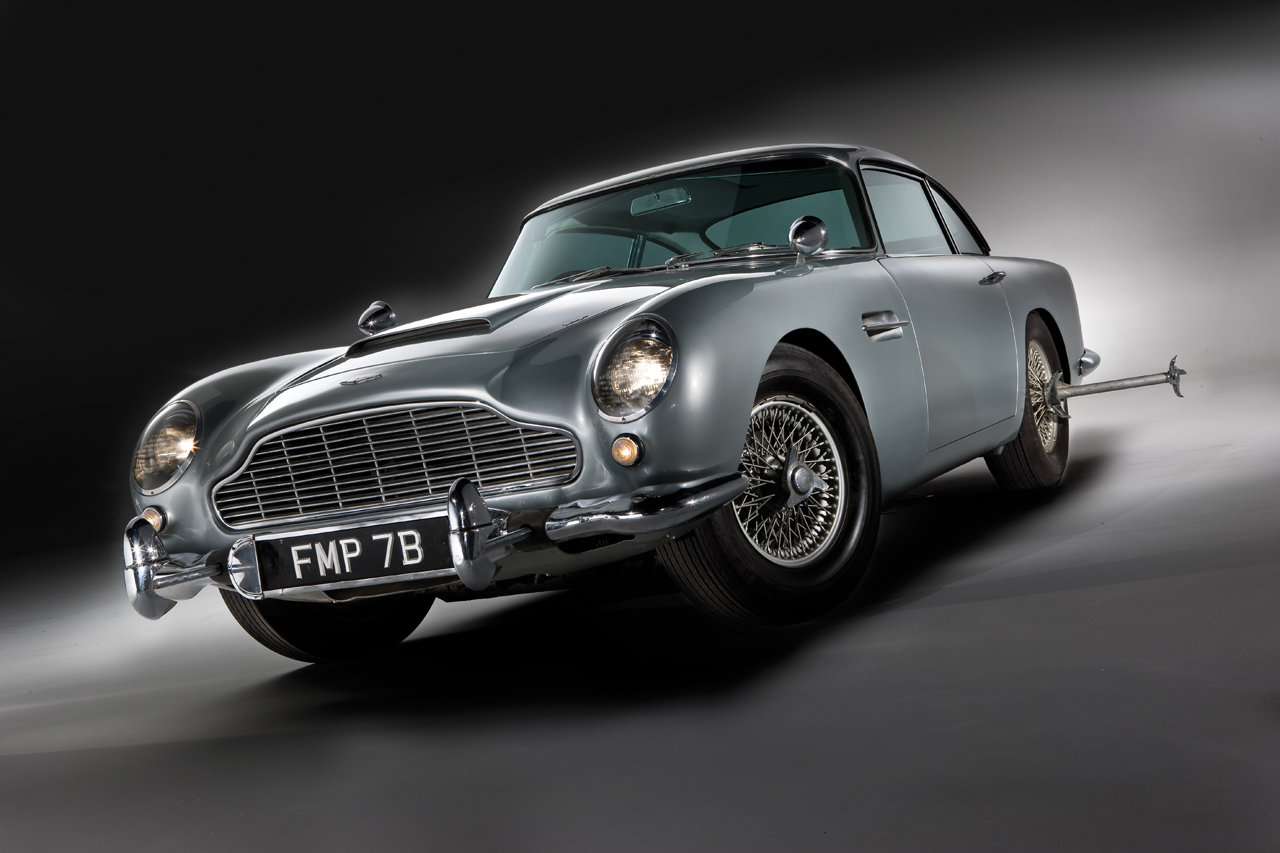 "db5 – James Bond Car From ""No Time to Die"" is a Classy Aston Martin"
