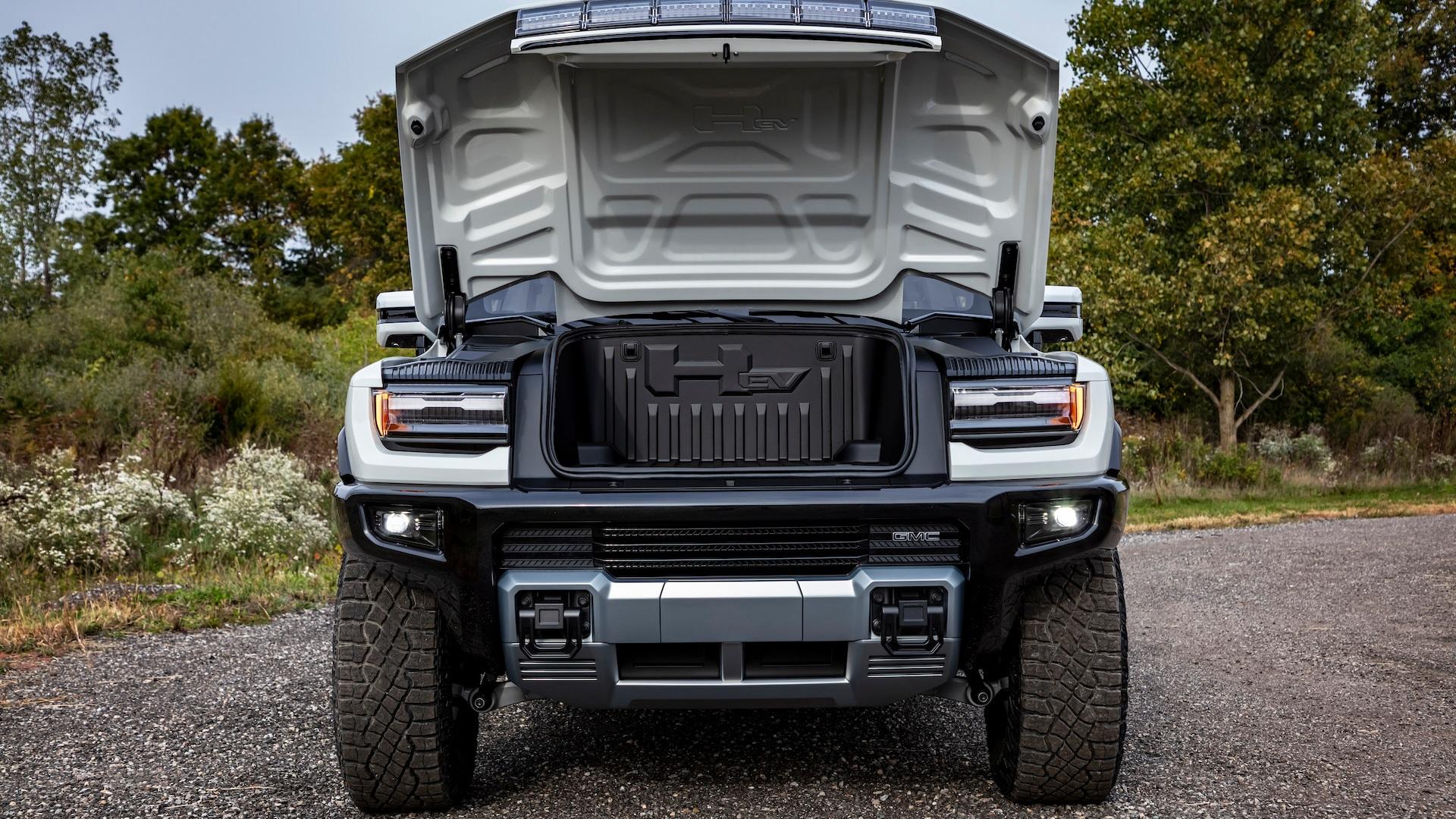 GMC Hummer EV front