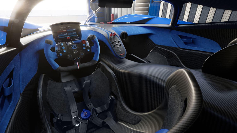 new bugatti interior