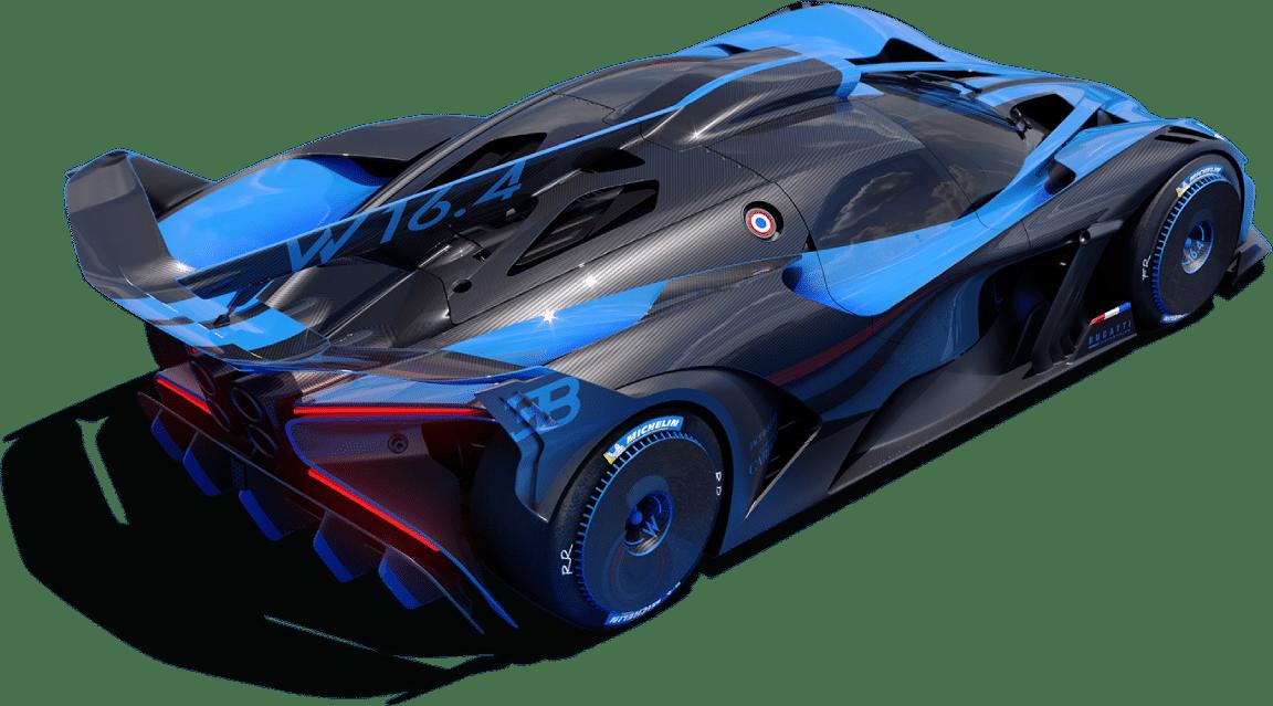 new Bugatti Bolide